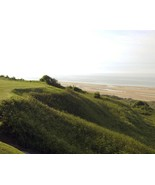 Dunes and hills of the Utah Beach D-Day landing site Normandy - New 8x10... - $8.81