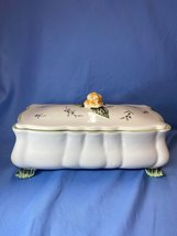 Princess House Exclusive Vintage Garden Floral Casserole Dish Bowl With Lid - $28.99