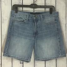 Calvin Klein Jeans Distressed Medium Denim Jean Shorts Women's Casual Size 6  - $15.99