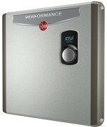 Rheem Electric Tankless Water Heater 5.3 GPM 27,000 Watts Self-Modulating - $510.05