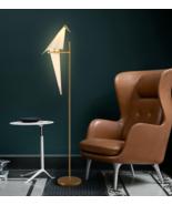 Perch Bird Torchiere LED Light Floor Lamp Home Lighting Fixture Illumina... - $259.70+