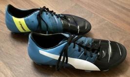 Puma Evopower 2 Mens Blue/Black/White Soccer Cleats Size 9.5 - $19.79