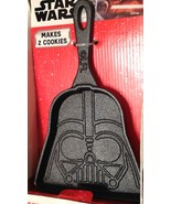 Star Wars Christmas Darth Vader Baking Skillet Cast Iron Plus Cookie Mix... - $12.82