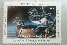 U.S. (PA16) 1998 Pennsylvania State Duck Stamp (MNH)***EXCELLENT*** - $9.89