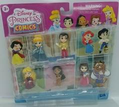 Hasbro Disney Princess Comics Glitter 5-Pack Mini Figure E6684 - $30.68