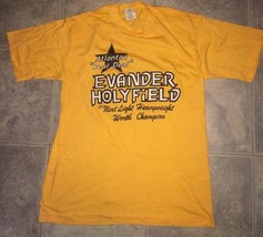 VTG Atlanta's Real Deal Evander Holyfield Heavyweight Champion Men's Shirt XL - $90.20