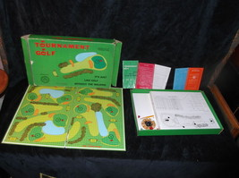 Vtg 1969 Tournament Golf Board Game Rigely Banada Corp - $8.11