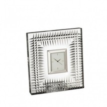 Waterford Crystal Lismore Diamond Bedside Clock New # 40000186 - $163.35