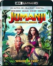 Jumanji: Welcome to The Jungle (4K Ultra HD+Blu-ray+Digital, 2018)