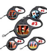 Cincinnati Bengals Retractable Dog Leash tangle free upto 110 lb pet lea... - $22.30+