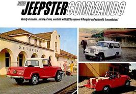 1966 Jeep Jeepster Commando - Promotional Advertising Poster - $9.99+