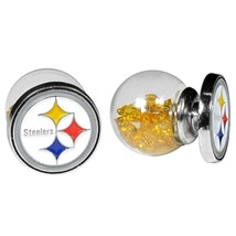 NFL - Pittsburgh Steelers Front/Back Earrings  - $9.99