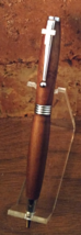 Cross / Tamboti Wood Pen / Silver--Item #C25 - $29.00