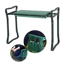 Smartxchoices Folding Garden Kneeler Seat Garden Bench Stool with Handle... - £43.28 GBP