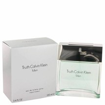 Cologne TRUTH by Calvin Klein Eau De Toilette Spray 3.4 oz for Men - $30.12