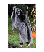 "60"" Halloween Reaper Skeleton Spooky Prop Decoration Party House Yard De... - $54.98"