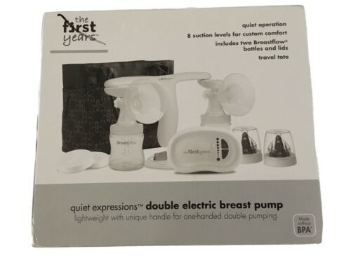Primary image for The First Years Quiet Expressions Double Electric Breast Pump w/ Tote Bag