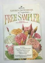 Hallmark Nature's Sketchbook Sampler Marjolein Bastin 2 Cards & Statione... - $14.84