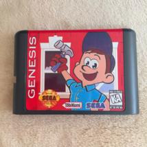 Fix It Felix Jr 16bit MD Game Card Mega Sega Drive Genesis US Version - $10.99