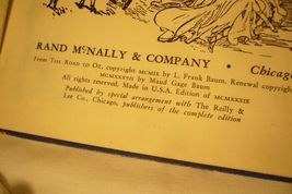 3 L Frank Baum 1939 Books Pumpkinhead - Road - Land image 5