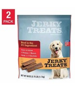 NEW Jerky Treats American Beef Dog Snacks 60 oz, 2-count FREE SHIPPING - $49.99