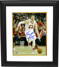 Frank Kaminsky signed Wisconsin Badgers 16x20 Photo Custom Framed (white... - $137.00