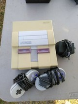 Super Nintendo Video Game Console SNS-001 Great Condition! Tested - $98.99