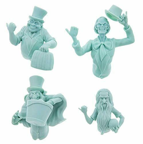 Disney Haunted Mansion Hitchiking Ghosts 3d Magnet Set - $44.54