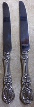 """Francis 1 Reed & Barton 2 Knife Sterling Silver Mirrorstele 8 7/8"""" Stain... - $45.99"""