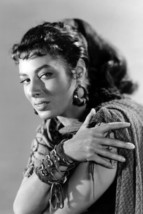 Rita Gam in Sign of The Pagan Exotic Looking Portrait 24x18 Poster - $23.99