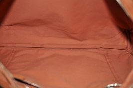 HERMES Acapulco Besace Coton Leather Orange Shoulder Bag Auth 5186 image 11