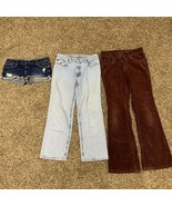 Women's Size 4 Bundle - Jeans Shorts Corduroy - Abercrombie - Lee - Ralp... - $9.74
