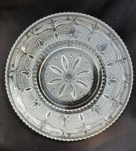 Clear Federal Glass Heritage Pattern Sandwich Plate - $15.00