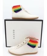 NIB GUCCI Bambi Rainbow Terry High-Top Sneakers 9.5 US 8.5 G  $695  New - $395.00
