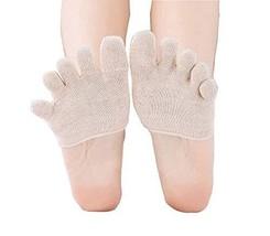 Black Temptation 5 Pairs of Five Finger Socks Invisible Socks Female Toe... - $16.66
