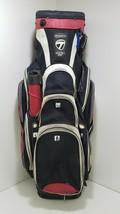 TaylorMade CATALINA 3.0 Cart Golf Bag 14-Way Dividers Single Strap C763 - $88.45