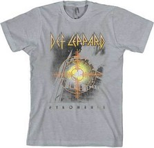Def Leppard Target Pyromaia Guitar Heavy Hard Rock Glam Metal Music Shirt S-2XL - $17.95