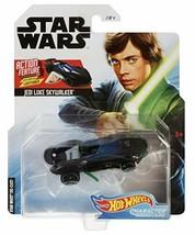 Hot Wheels Star Wars Jedi Luke Skywalker Action Feature Series Character... - $14.88