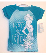 Disney Frozen Girls T-Shirt Elsa Let It Go Size... - $7.69