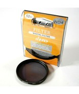 Digital dHD 52mm ND4 (2 Stop) Neutral Density Lens Filter For Digital Ca... - $14.20