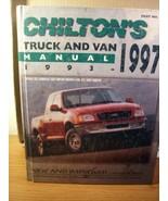 Chilton Repair Manual #7921 1993-1997 Van & SUV Repair Manual - $13.49
