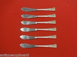 "Tapestry by Reed & Barton Sterling Silver Trout Knife Set 6pc. Custom 7 1/2"" - $366.80"