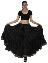 Wevez Cotton Tribal Belly Dance Jodha Maharani Skirt (25 Yard Skirt) - $50.49
