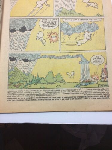 CASPER THE FRIENDLY GHOST #165 COMIC BOOK (HARVEY,)  Vintage image 3