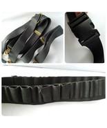 Men's Hunting Gear Black Tactical Belt Heavy Duty & Suspenders Outdoor Wear - $16.40