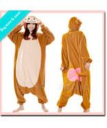 JAPANESE MONKEY Sazac Kigurumi Adult Animal Costume Suit One Size Fleece... - £38.74 GBP