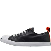 Converse JP Jack Purcell Low Pro Leather Ox Trainers BLACK - $110.50