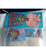 Big Baby Kit Halloween Costume 2003 Large safety pin Adult diaper  Fanta... - $12.86