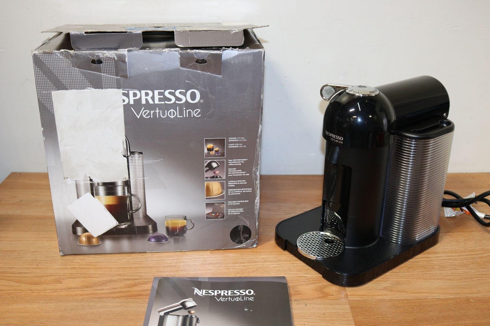 Nespresso GCA1 US CH NE VertuoLine Coffee And Espresso Maker Parts Only E116