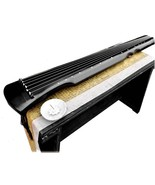 OrientalMusicSanctuary Lacquered Aged Paulownia Guqin - 7-string Chinese... - $239.00